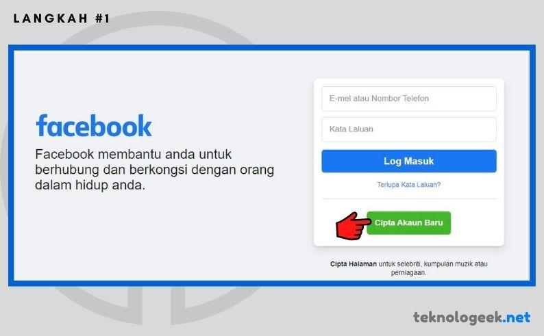Daftar Akaun Facebook